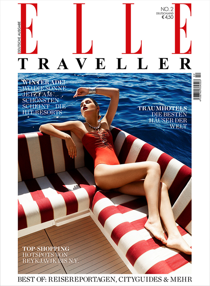 Underwater Fashion Advertising Photography Michael David Adams Photographer Lucija Jelcic Croatia Elle Magazine Traveller