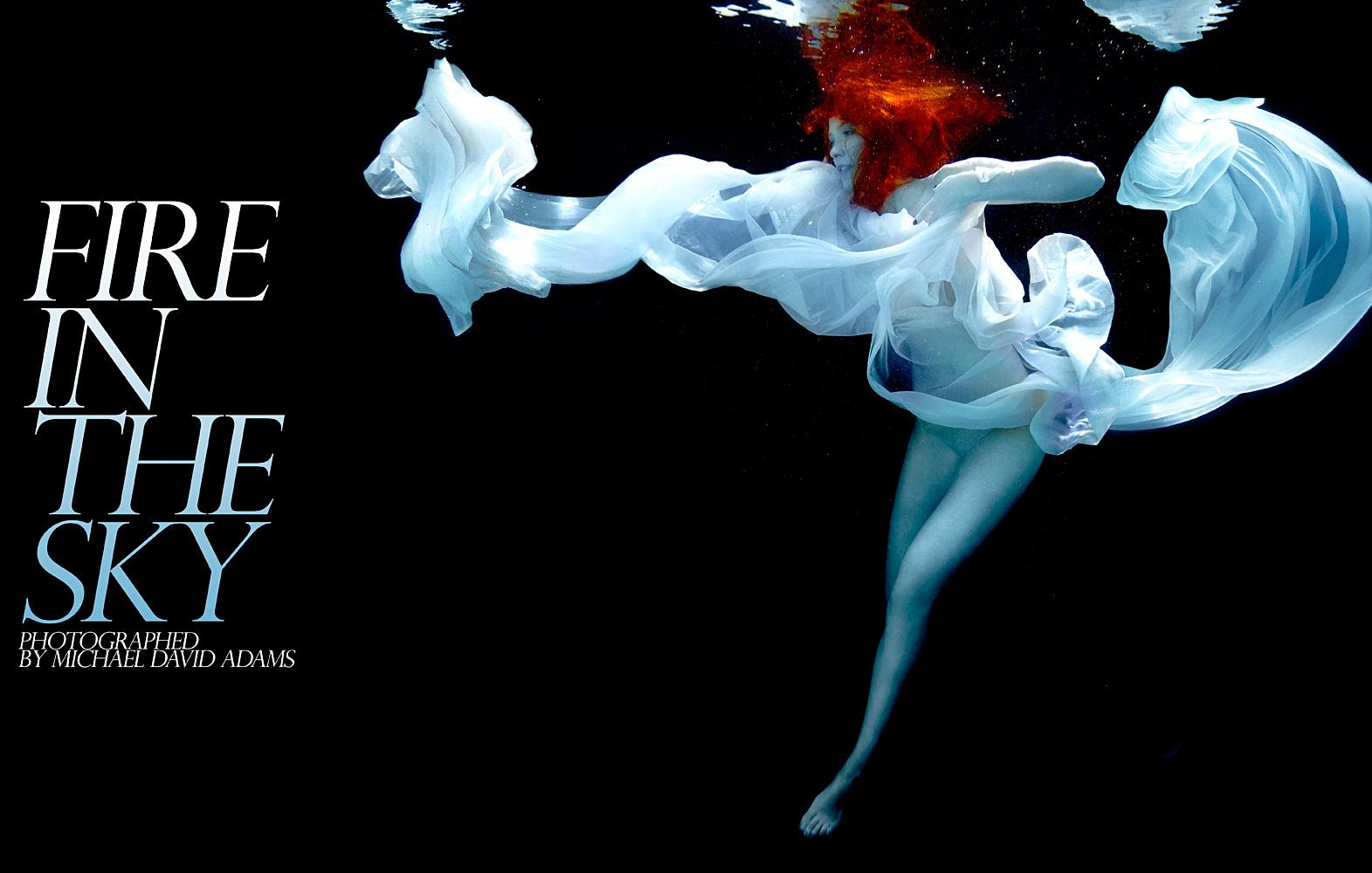 fire in the sky by michael david adams underwater photographer michael david adams. Black Bedroom Furniture Sets. Home Design Ideas