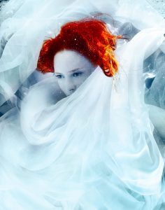 Underwater Fashion Photography Michael David Adams Photographer Fire in the Sky Cecile Sinclair