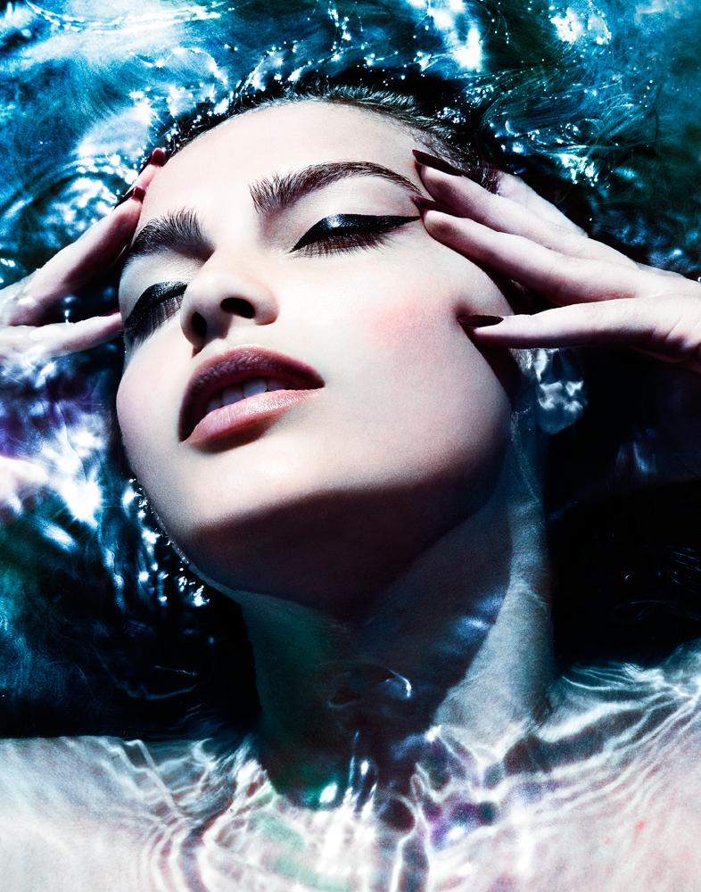 Underwater Fashion Advertising Photography Michael David Adams Photographer Lucija Jelcic Croatia