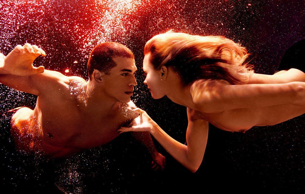Underwater Fashion Photography Michael David Adams Photographer Breath From Another Jivago Santini Anna-Sophie Mungenast