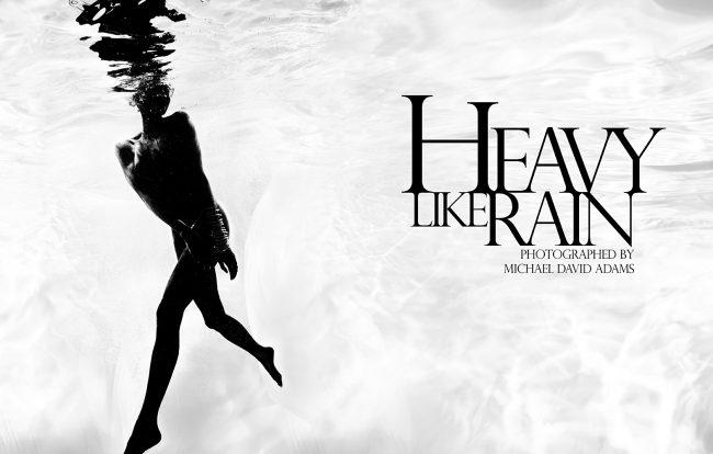 Underwater Fashion Photography Michael David Adams Photographer Heavy Like Rain Jasmine Sais Burgess