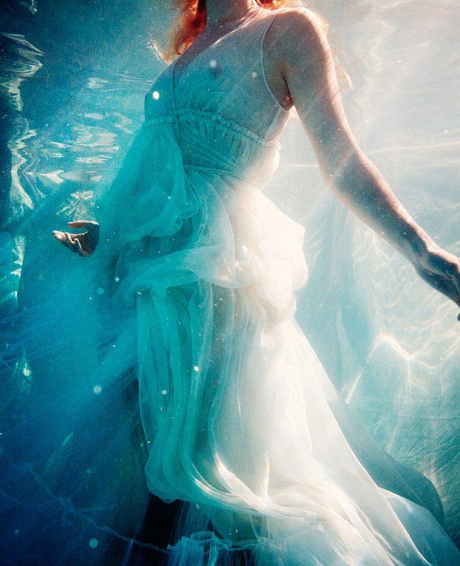 Underwater Fashion Photography Michael David Adams Photographer Lisa Ward Morgane Le Fay