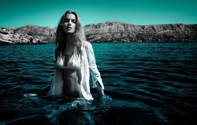 Underwater Fashion Advertising Photography Michael David Adams Photographer Maria Piskac Henrique croatia