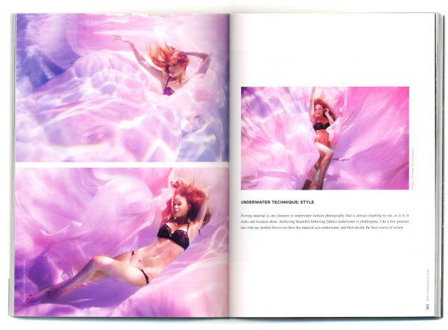 Underwater Fashion Advertising Photography Michael David Adams Photographer Interview